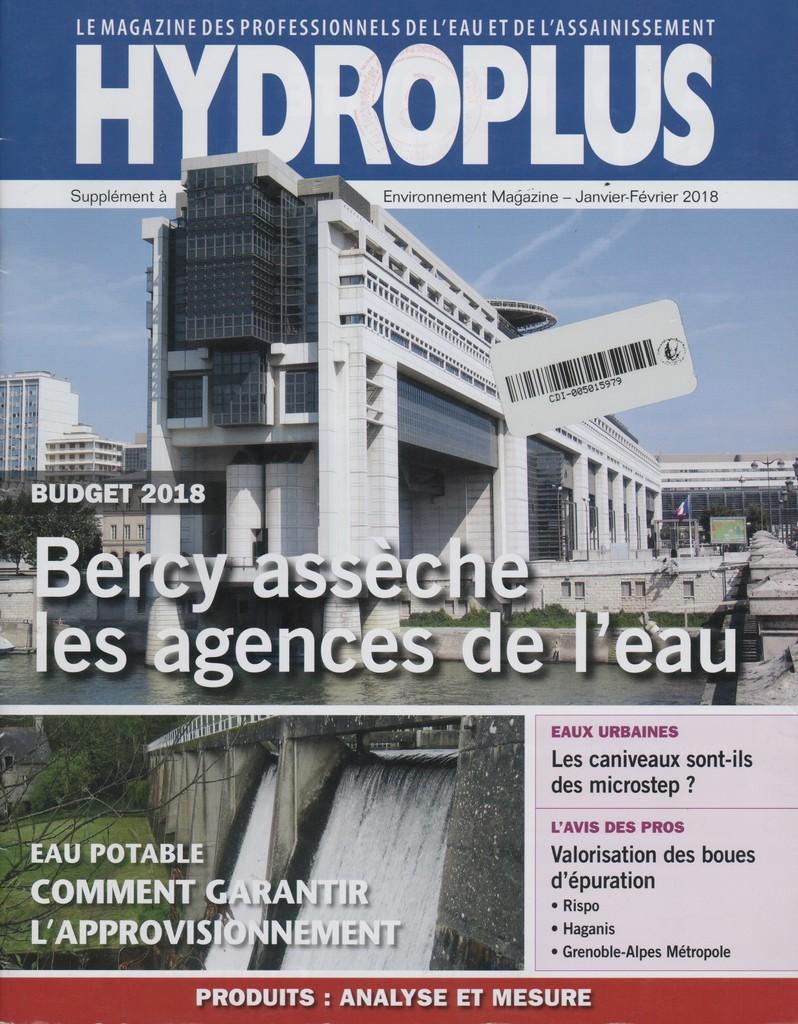 Hydroplus. 244, Mardi 9 Janvier 2018 |