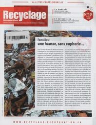 Recyclage récupération. 10, Lundi 19 Mars 2018 |