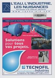 L'eau, L'industrie, Les nuisances. 405, Lundi 9 Octobre 2017 |