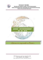 Echos Environnement du 20-06-2018 |