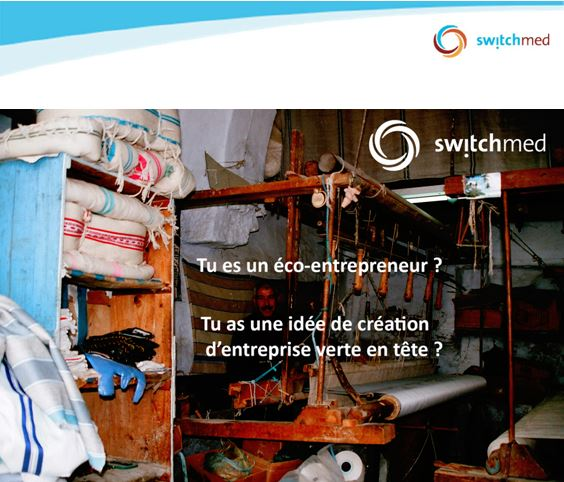 APPEL A CANDIDATURES SwitchMed, Formations d'entrepreneurs verts  