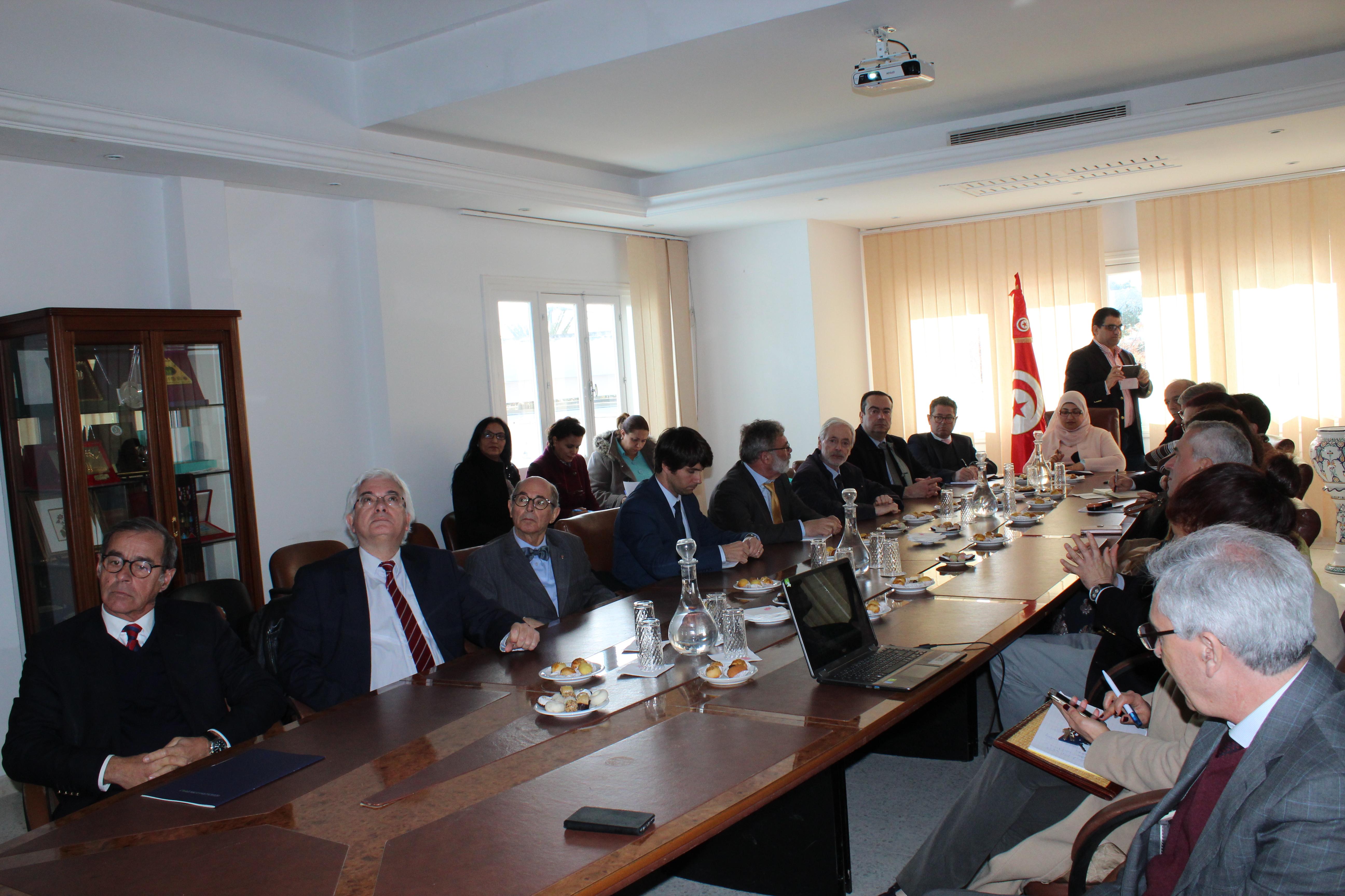 Visite de la délégation portugaise  |