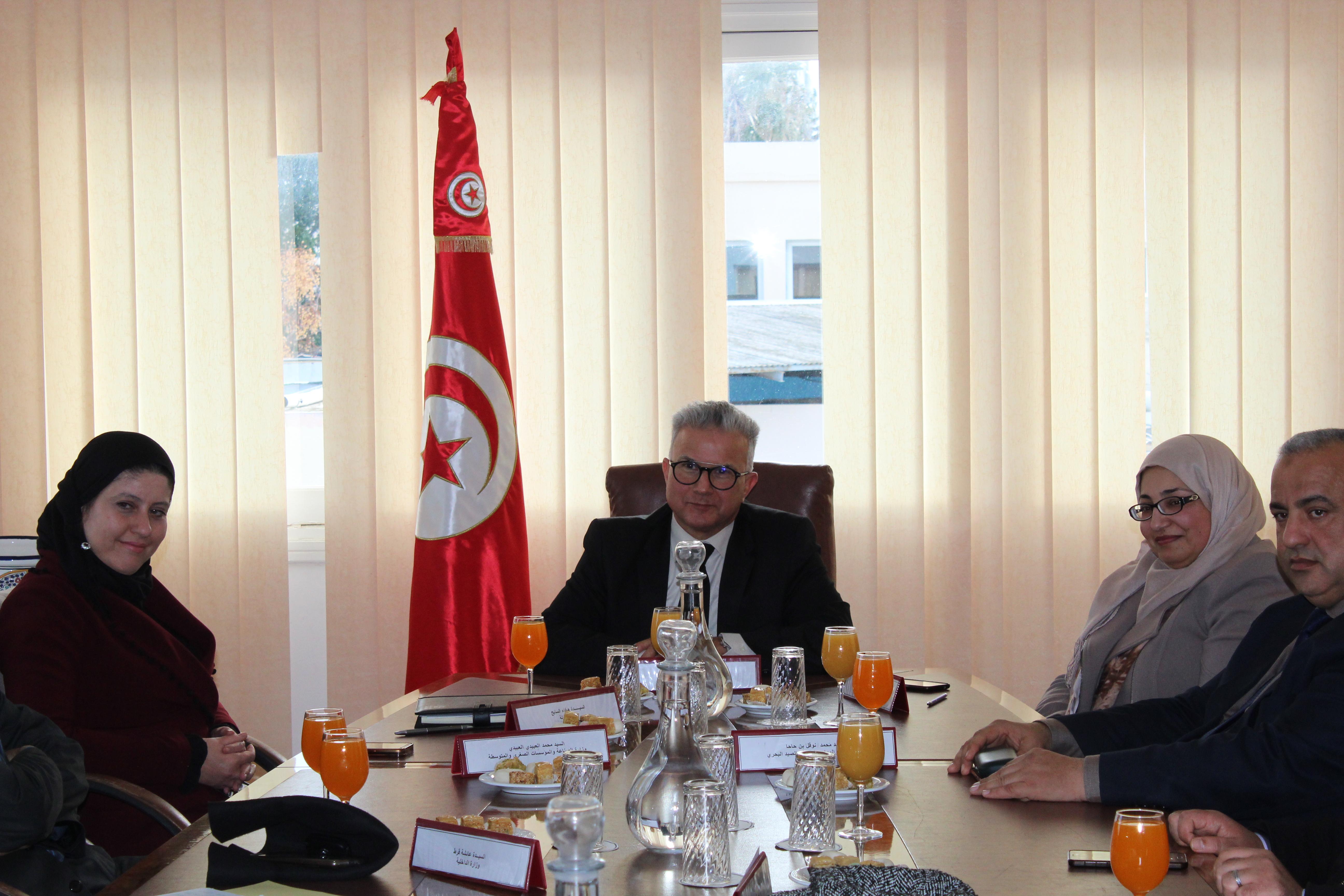 تنصيب مديرا عاما  لمركز تونس الدولي لتكنولوجيا البيئة |