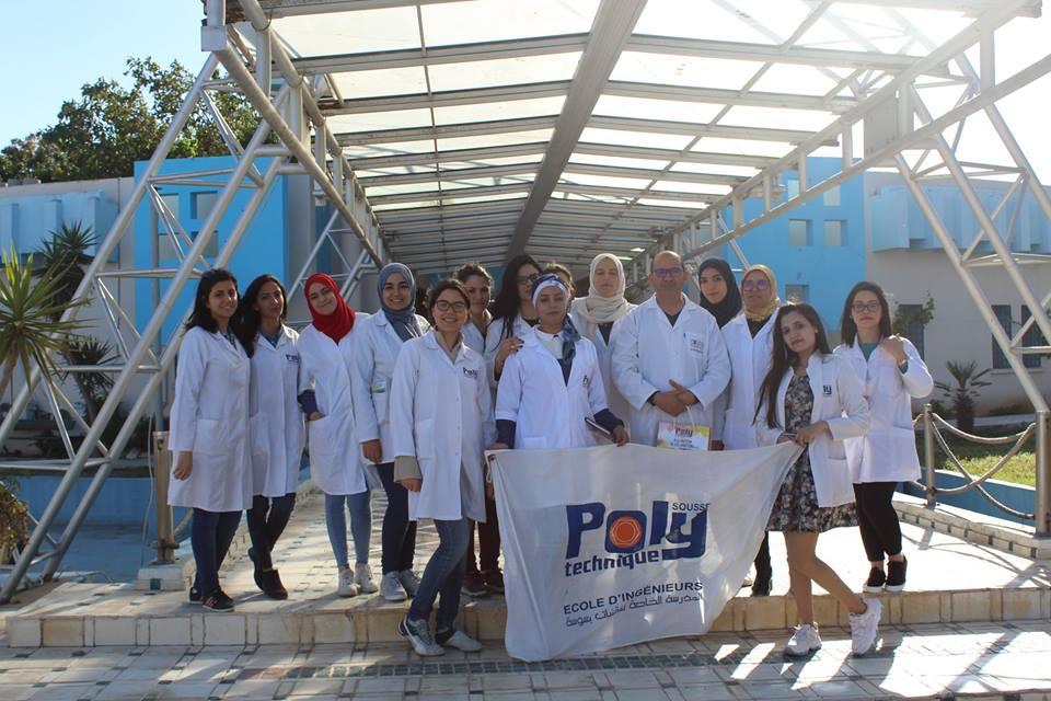 Visite d'un groupe d'étudiants de l'École Polytechnique Privée de Sousse  |